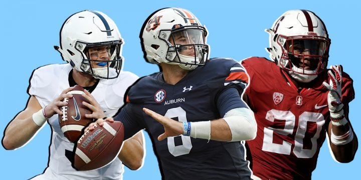 2018 College Football Power Rankings Pre-Bowl Games
