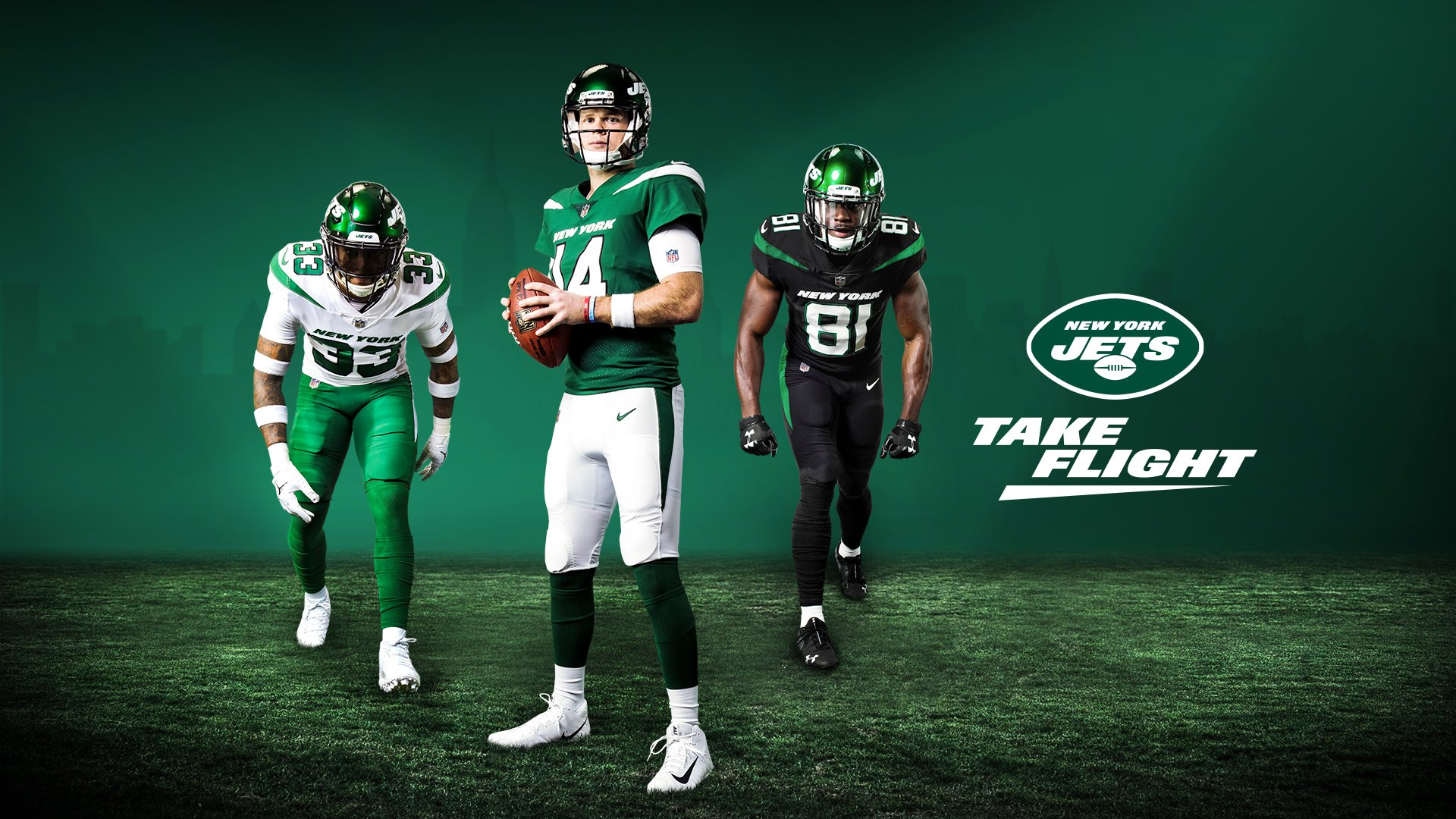 The New York Jets Release New Uniforms And Logo Wolf Sports