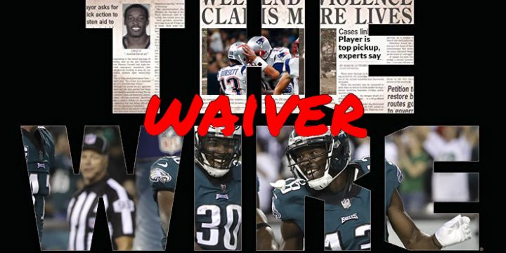 The (Waiver) Wire: Week 17, 2019