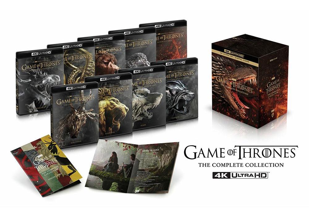 Game Of Thrones The Complete Collection In 4k Uhd Review Wolf Sports