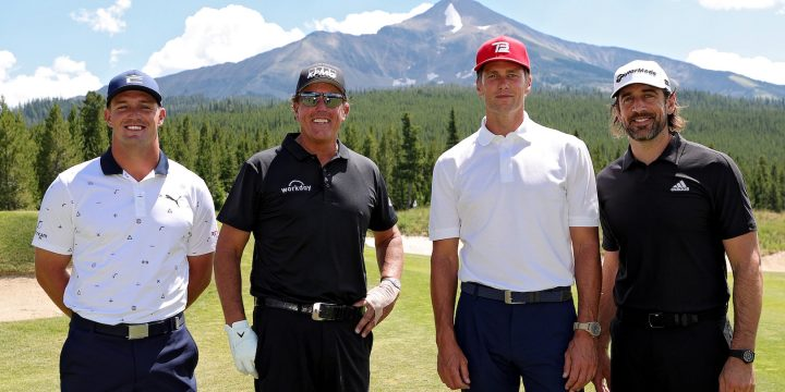 Best Moments From 'The Match IV' Featuring Rodgers, DeChambeau, Brady, and Mickelson